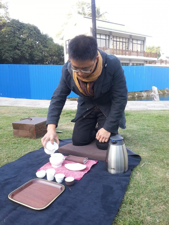 无我茶会练习,厦门中正公园,真水无香人文茶艺